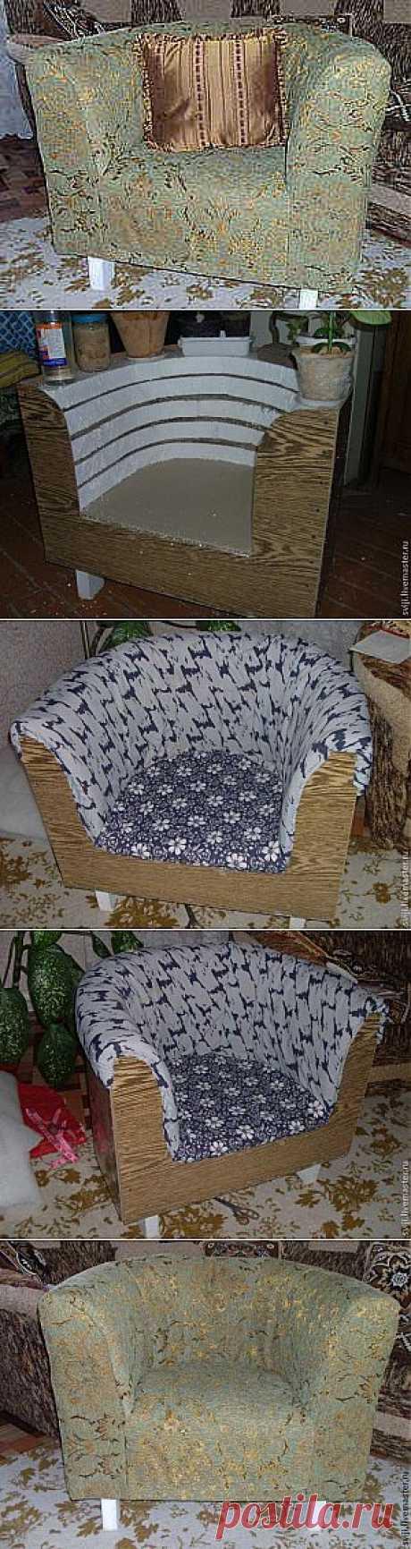 Делаем кресло сами. Описание изготовления - Ярмарка Мастеров - ручная работа, handmade