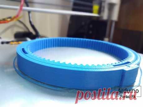 Печать после модернизации 3D принтера Anet A8.