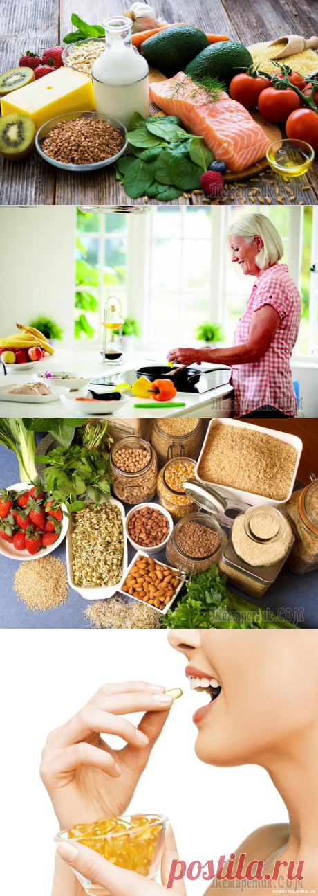 Food which eats you – healthy nutrition after 40 years