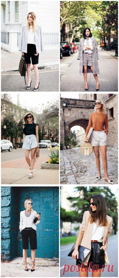 Спорная вещь - как носить шорты в городе