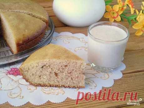 Манник на кефире  bcnjxybr Лучшие рецепты Повара  Манник на кефиреМанку обязательно нужно замачивать в кефире, чтобы она предварительно разбухла и не была сырой в пироге. Все составляющие смешиваются, а выпекаю я пиро…