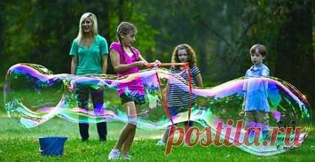 Гигансткие мыльные пузыри | Женское кредо