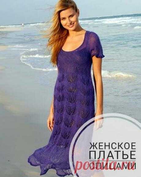 Платье спицами, 12 интересных моделей для зимы и лета, Вязание для женщин