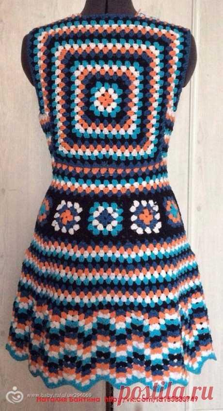 Хочу связать такое платье - Рукоделие
