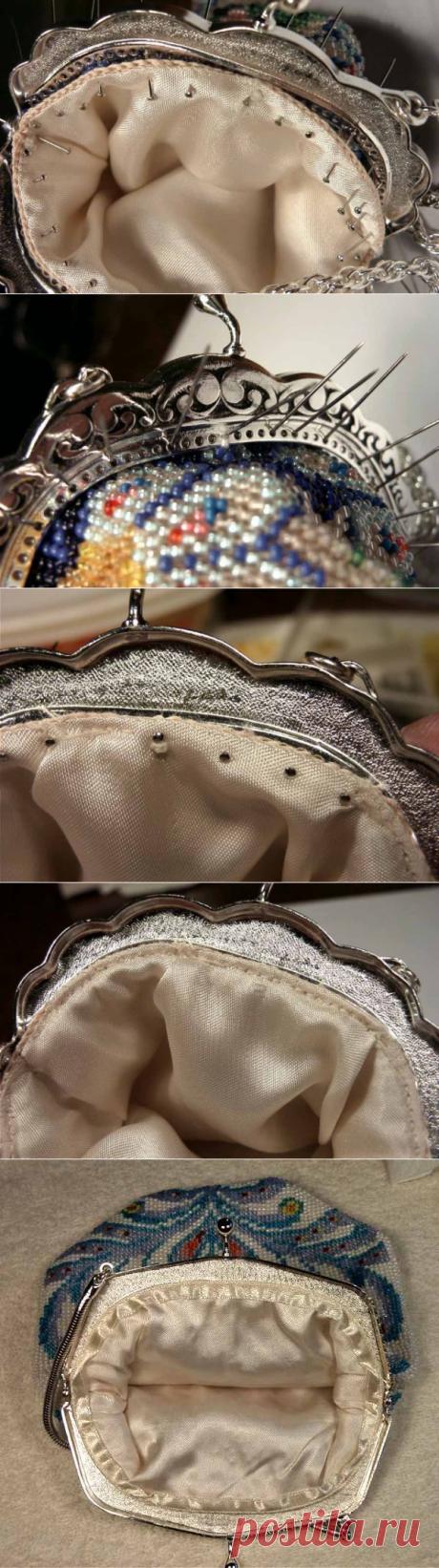 MK por prishivaniyu de la manecilla al bolso - Art-shop