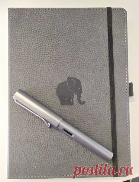 Moleskin has a new elephant-styled notebook which is very convenient for #postgres fans.
