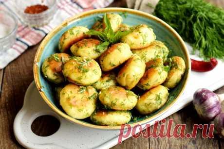 Быстрые чесночные пампушки к борщам и супам - рецепт с фото