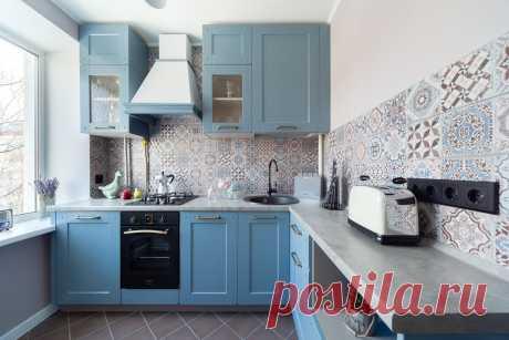 Маленькая кухня 5 кв.метров