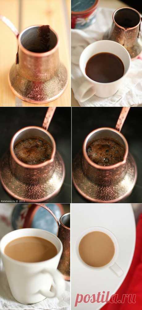 Как варить кофе в турке. Как правило, в турке (джезве) варят очень крепкий кофе. По-восточному, так сказать. Часто — с добавлением специй, вроде кардамона, корицы, перца, соли и коричневого сахара. По крепости и плотности вы получите ристретто — наиболее крепкий из всех видов кофе, что подают в привычных вам кофейнях.