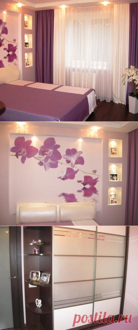 Интерьер спальни 13,3 кв. м. — Наши дома