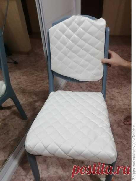 Реставрация старых стульев: создаю обеденную группу