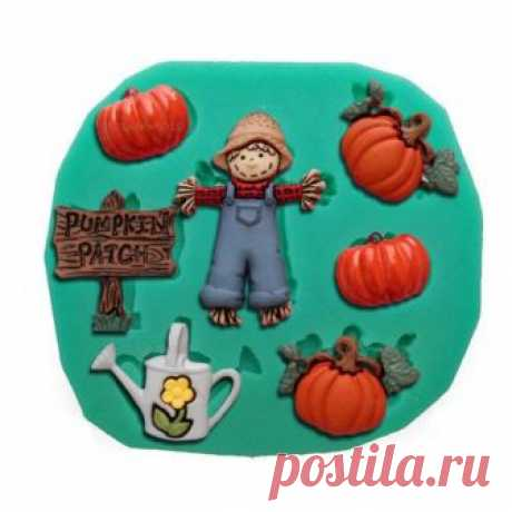Halloween, pumpkin, mold, silicone mold, resin mold, soap mold, polymer clay mold, fondant mold, chocolate mold, silicone mould, cake mold Halloween, pumpkin, mold, silicone mold, resin mold, soap mold, polymer clay mold, fondant mold, chocolate mold, silicone mould, cake mold, diy  ►More molds: https://www.etsy.com/shop/OscolShop?ref=l2-shopheader-name§ion_id=24157932 Mold Size: 83*75*11 mm Mold Weight: 54 g  Oven and freezer