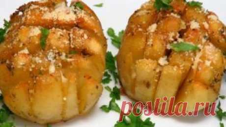 Хрустящая ароматная картошка в духовке