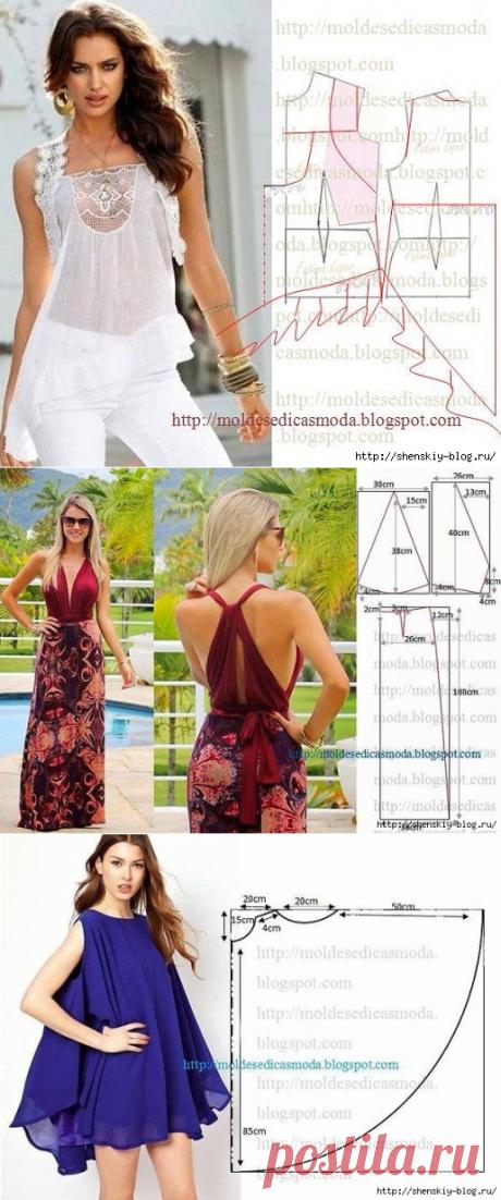 Супер-модные летние наряды своими руками! » Женский Мир