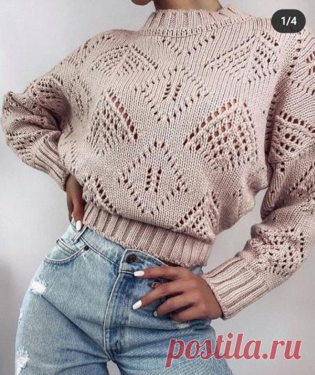 Шикарные вязаные пуловеры спицами! Их стоит посмотреть!   Копилка узоров (Вязание спицами)   Яндекс Дзен