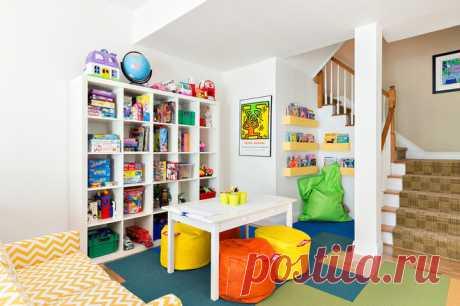 Хранение игрушек в детской комнате: Где хранить детские игрушки — системы и идеи