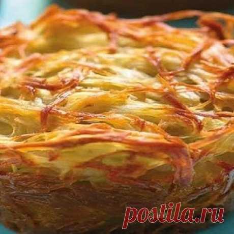 Овощной кугель — безумно вкусно быстро и легко. Прекрасное второе блюдо с еврейскими корнями