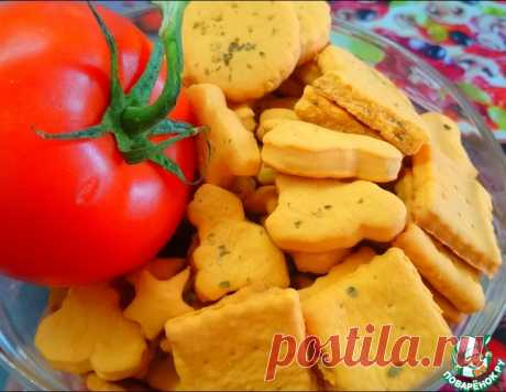 Легкое печенье с томатным соком – кулинарный рецепт