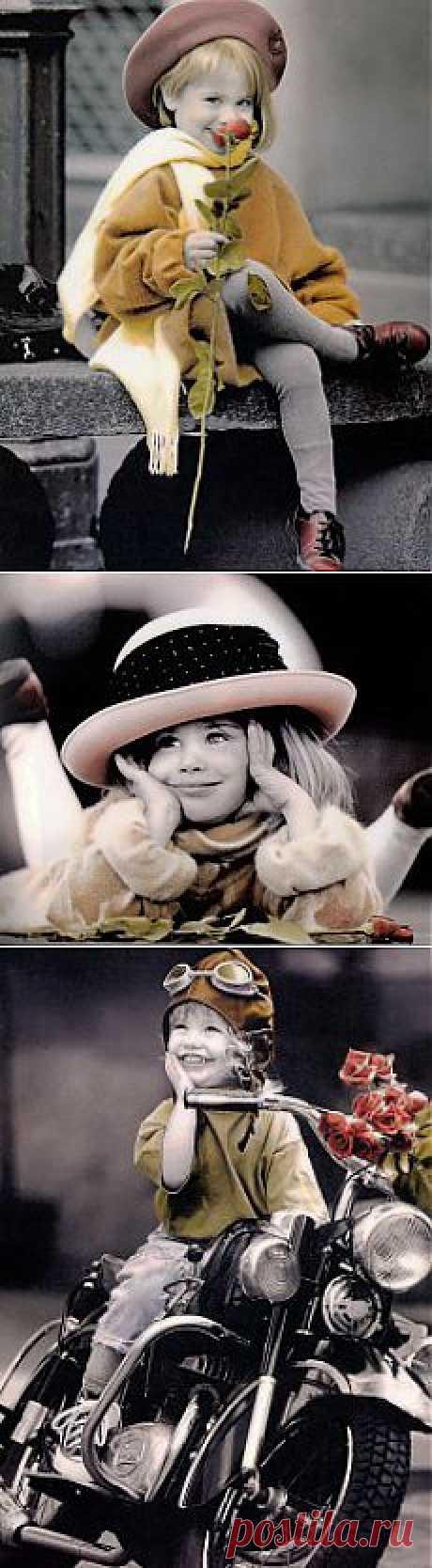 Красивые детские фотографии Kim Anderson | Оригинальные идеи для творчества