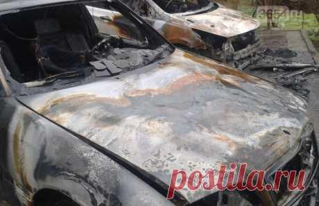 В Ялте под сгоревшими автомобилями найдены взрывпакеты - 3654.ru