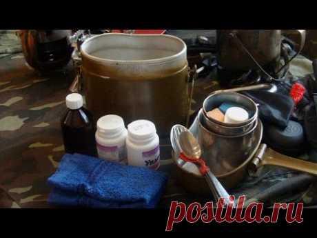 Комплектация армейского котелка / Options Army kettle