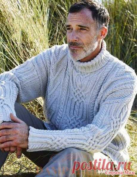 . Мужской свитер «Окли» - Вязание - Страна Мам