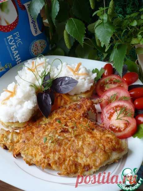 Камбала с золотой корочкой - кулинарный рецепт