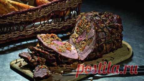 Баранья нога с гречкой и белыми грибами, пошаговый рецепт с фото Баранья нога с гречкой и белыми грибами. Пошаговый рецепт с фото, удобный поиск рецептов на Gastronom.ru