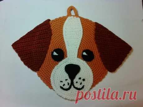 Прихватка- собачка Чихуахуа, ч.2. Pothook - dog Chihuahua, р.2. Amigurumi. Crochet. Амигуруми. - YouTube