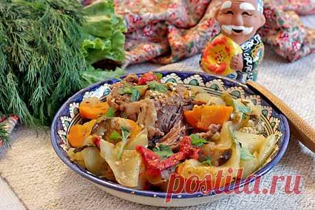 Узбекская кухня — 5 простых рецептов вкусных мясных блюд! | Аймкук — рецепты с фото и видео | Яндекс Дзен