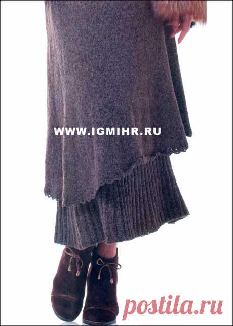 Оригинальная двойная юбка