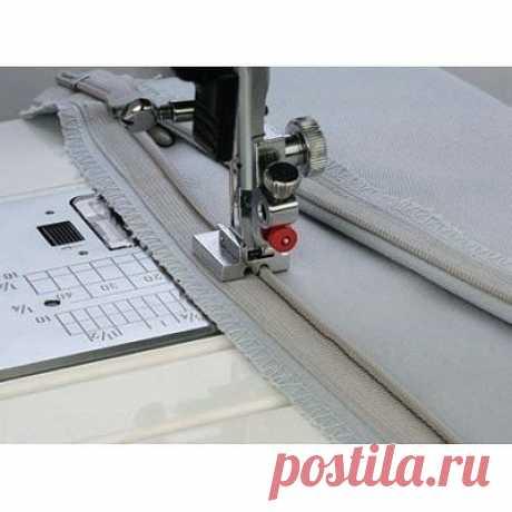 Тонкости использования дополнительных лапок для швейных машин