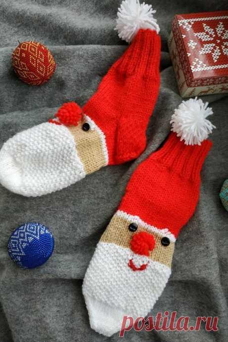 Интересные идеи вязаных варежек и носочков для детей. | Handmade для всех | Яндекс Дзен