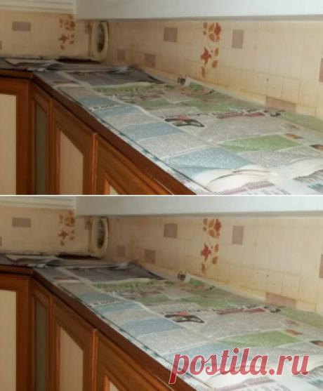 Зачем хозяйки укладывают газеты на кухонные шкафы. Думала ерунда…