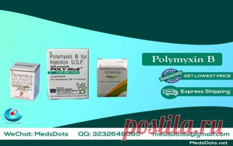 Get Polymyxin B Injection used for overcome on some type of infection like bloodstream, urinary tract, ear, skin, bloodstream, eye and reduce the growth of drug-resistant bacteria and maintain the effectiveness of polymyxin B and other antibacterial drugs, with MedsDots:The True Indian Pharmacy always worried for your health and provide services worldwide. We MedsDots give Generic Polymyxin B in very minimum price and at your place all over the world like USA, Hong Kong, China, Australia, UK, UA