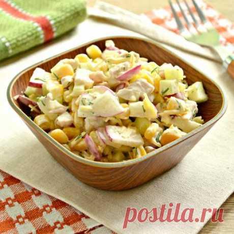 Салат с сыром - всегда вкусно и сытно