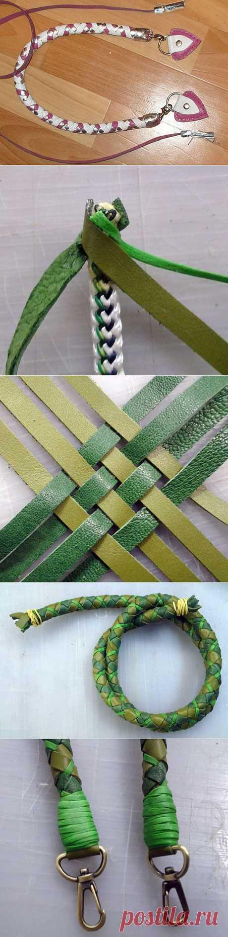 Мастер-класс по плетению ручек от Оксаны Калининой.