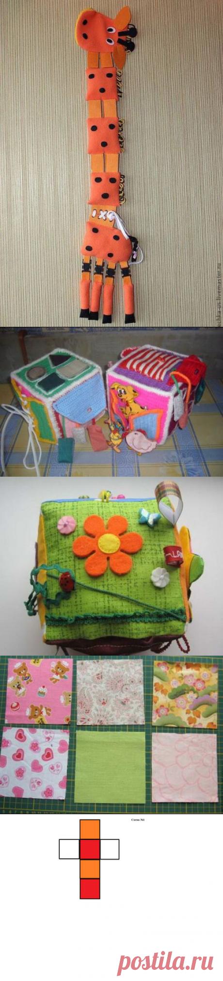 Развивающие игрушки для малышей своими руками — Делаем руками