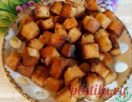 Карамельные сухарики – кулинарный рецепт