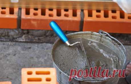 Зачем некоторые мастера добавляют шампунь в цементный раствор — Лайфхаки