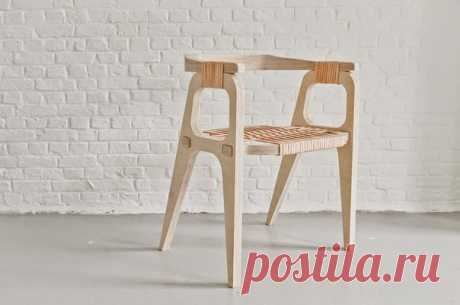 Chair from plywood. #DIY_Идеи