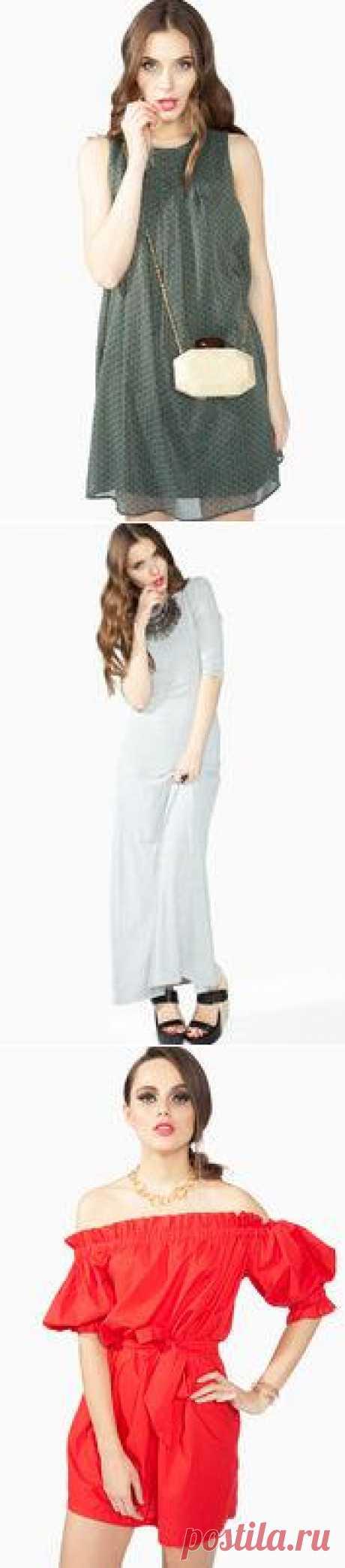 ¡Los vestidos a la moda por el verano de 2000 hasta 5000 rub!