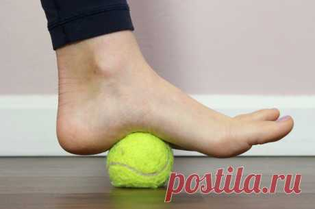 6 простых упражнений для снятия боли в ступнях и ногах вообще – БУДЬ В ТЕМЕ