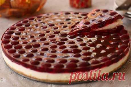 Вишневый торт (без выпечки)  Ингредиенты: -... / Еда и напитки / Рецепты / Pinme.ru