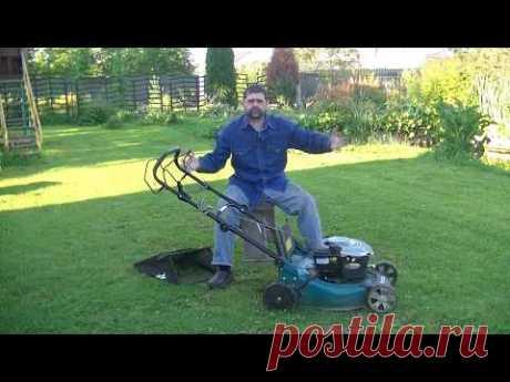 Мой опыт использования газонокосилки МАКИТА