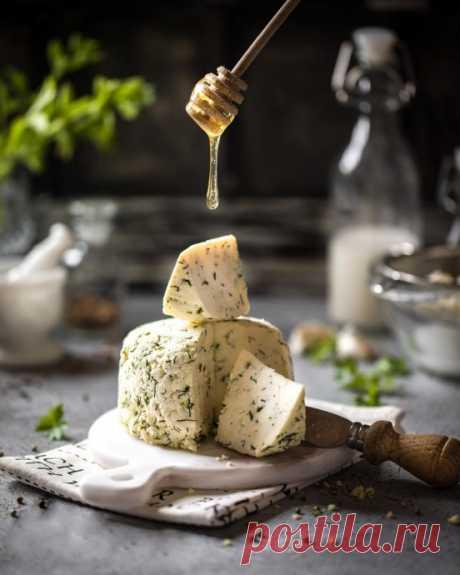 Нежный сыр в домашних условиях