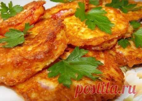Как приготовить помидоры в сырном кляре - рецепт, ингредиенты и фотографии