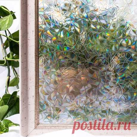 Cottoncolors домашнего декора окна Обложка Фильмы, Нет клей 3D статические декоративные конфиденциальности ПВХ Водонепроницаемый стекла наклейки 45x200 см купить на AliExpress
