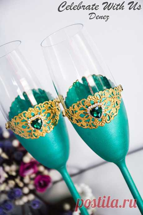 ARCADIA Wedding Glasses Personalized Engraved Toasting Flutes Champagne Flutes Toasting Glasses Set Bride and Groom Wedding Trend 2018 2 pcs Wedding Trend 2018!!!  ARCADIA Wedding Glasses Personalized Engraved Toasting Flutes Champagne Flutes Toasting Glasses Set Bride and Groom 2018 Pantone Color 2pcs  These beautiful wedding toasts, suitors, and the bride will really perform at your wedding ceremony. Wedding glasses
