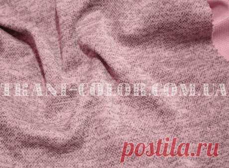 Трикотаж ангора софт пудра меланж: купить в Украине оптом и в розницу. одежные ткани - магазин ткани Color